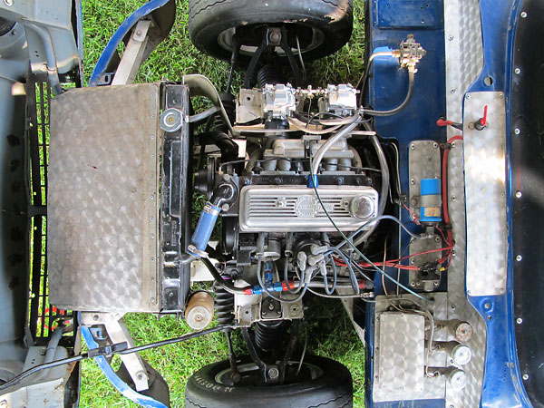 Richard Browns 1964 Triumph Spitfire Race Car