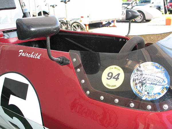 SPA F1 mirrors (with black nylon housings).
