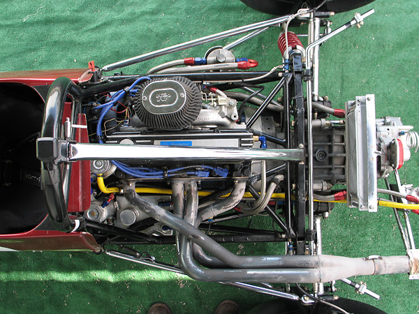 1.6L Ford four-cylinder, built by Quicksilver RacEngines.