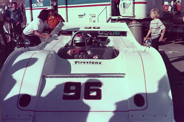 The Commander team used conventional McLaren M20 front bodywork at Road Atlanta and Laguna Seca.