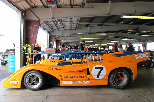 Scott Hughes' McLaren M8F Can-Am Racecar