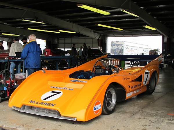Scott's M8F is qualified to vintage race in Sportscar Vintage Racing Association's 7ASR class.