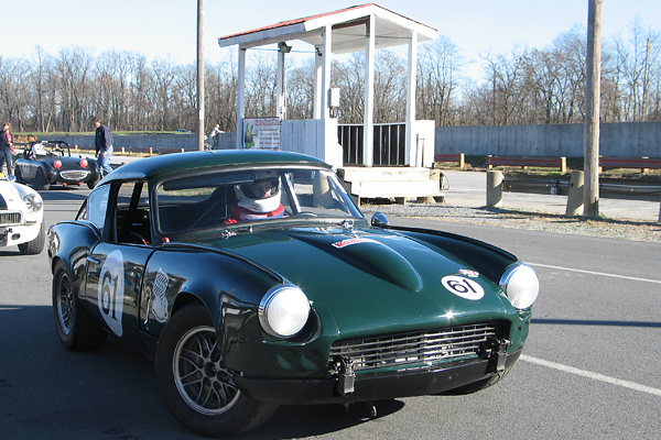 Scott Janzen's 1968 Triumph GT6 Race Car, Number 61