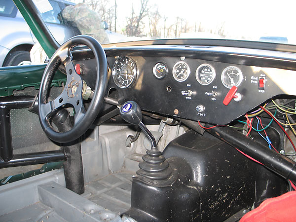 Scott Janzen S 1968 Triumph Gt6 Race Car Number 61
