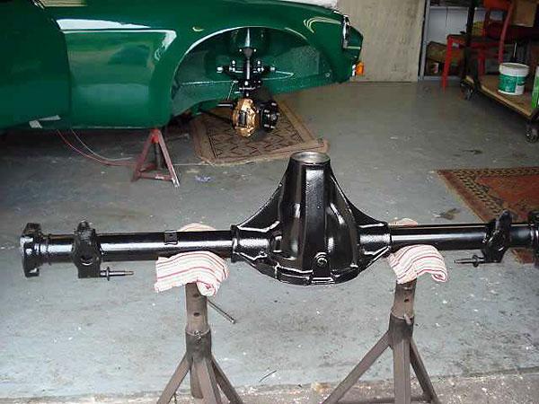 Salisbury Rear Axle : Shaun holmes  mgc gt vintage racecar