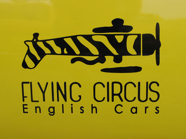Sponsored by: Flying Circus English Cars.