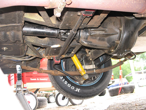 Mg midget rear sway bar