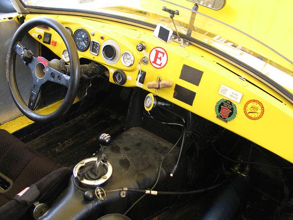 B-Stingers' MGB racecar
