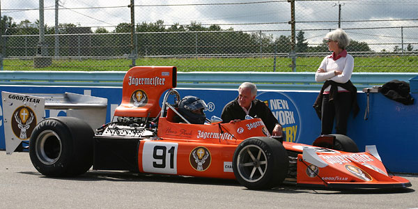 Steve Cook's March 741 (1974 Formula One) Historic Grand Prix Racecar