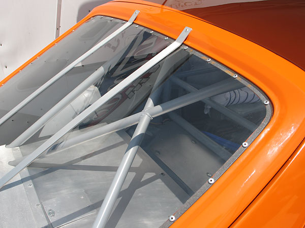 Replacing the rear hatch glass with polyurethane is a big weight reduction.