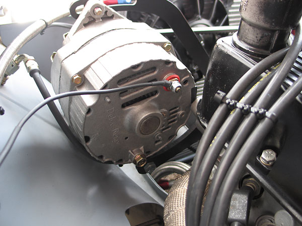Delco-Remy single-wire alternator.