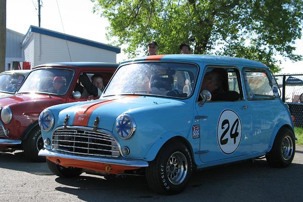 Milnes Austin Mini Cooper S Racecar Number