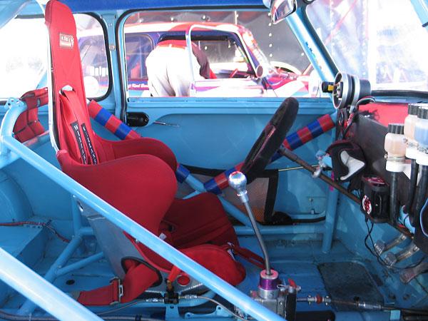 Terry Milnes 1966 Austin Mini Cooper S Racecar Number 24