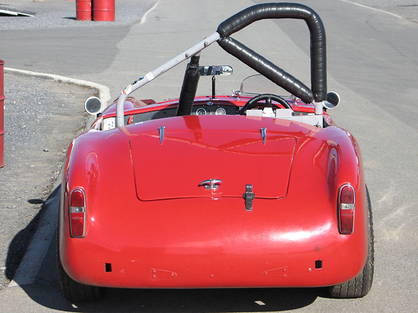 Turner Sports Cars had an excellent reputation for the quality of their fiberglass panels.