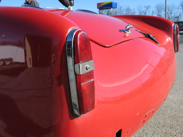 Turner switched between two different styles of taillight on the MkIII model.